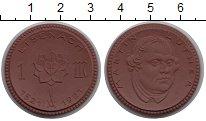 Изображение Монеты Саксония 1 марка 1921 Фарфор UNC