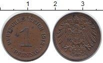 Изображение Монеты Германия 1 пфенниг 1912 Медь XF