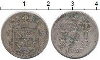 Изображение Монеты Нидерланды Западная Фризия 2 стивера 1757 Серебро VF