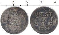 Изображение Монеты Нидерланды Западная Фризия 2 стивера 1774 Серебро VF