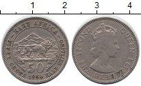 Изображение Монеты Восточная Африка 50 центов 1954 Медно-никель XF