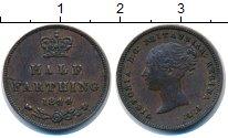 Изображение Монеты Великобритания 1/2 фартинга 1844 Медь XF-