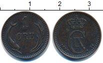 Изображение Монеты Дания 1 эре 1882 Медь XF Кристиан IX.
