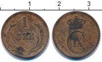 Изображение Монеты Дания 1 эре 1874 Медь XF Кристиан IX.