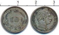 Изображение Монеты Дания 10 эре 1904 Серебро XF Кристиан IX.
