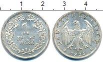 Изображение Монеты Веймарская республика 1 марка 1925 Серебро XF Е