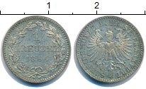 Изображение Монеты Франкфурт 1 крейцер 1864 Серебро UNC-