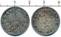 Изображение Монеты Германия Нассау 6 крейцеров 1835 Серебро XF