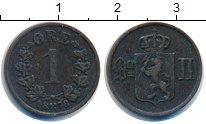 Изображение Монеты Норвегия 1 эре 1878 Медь XF