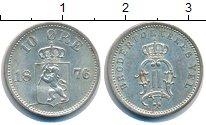 Изображение Монеты Норвегия 10 эре 1876 Серебро UNC-