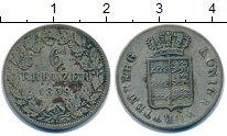 Изображение Монеты Вюртемберг 6 крейцеров 1839 Серебро VF