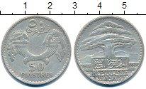 Изображение Монеты Ливан 50 пиастров 1929 Серебро XF