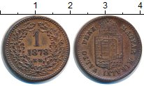 Изображение Монеты Венгрия 1 крейцер 1878 Медь XF