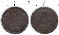 Изображение Монеты Гессен-Дармштадт 3 крейцера 1800 Медь VF