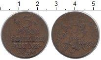 Изображение Монеты Пруссия 3 пфеннига 1760 Медь VF