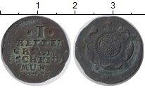 Изображение Монеты Липпе-Детмольд 1 геллер 1767 Медь VF