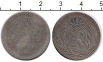 Изображение Монеты Гессен-Кассель 1/6 талера 1821 Серебро VF AKS 22
