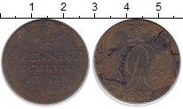Изображение Монеты Ганновер 4 пфеннига 1827 Медь VF