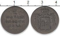 Изображение Монеты Вальдек-Пирмонт 2 марьенгроша 1822 Серебро VF-