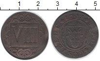 Изображение Монеты Германия Косфельд 8 пфеннигов 1713 Медь VF