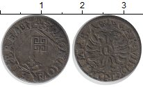 Изображение Монеты Германия Бремен 1 гротен 1743 Серебро VF