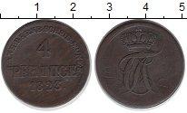 Изображение Монеты Анхальт-Бернбург 4 пфеннига 1823 Медь VF