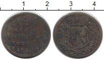 Изображение Монеты Германия Вюрцбург 1/4 крейцера 1752 Медь VF