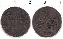 Изображение Монеты Германия Саксе-Кобург-Гота 1 геллер 1712 Медь VF