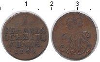 Изображение Монеты Германия Саксен-Кобург-Саалфелд 1 пфенниг 1762 Медь VF