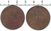 Изображение Монеты Италия 20 сентесим 1906 Медь VF+