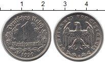 Изображение Монеты Третий Рейх 1 марка 1939 Медно-никель XF