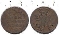 Изображение Монеты Пруссия 3 пфеннига 1752 Медь VF
