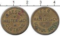 Изображение Монеты США жетон 0 Латунь  Школьная одежда