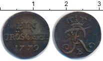 Изображение Монеты Германия Силезия 1 грошель 1779 Серебро XF-