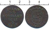 Изображение Монеты Франция 1 лиард 1681 Медь VF