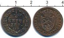 Изображение Монеты Нассау 1/4 крейцера 1811 Медь XF-