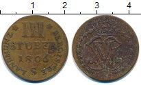 Изображение Монеты Германия Берг 3 стюбера 1806 Серебро VF