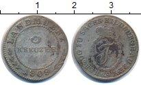 Изображение Монеты Германия Саксен-Хильдбургхаузен 3 крейцера 1808 Серебро VF
