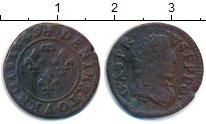 Изображение Монеты Франция 1 денье 1649 Медь VF