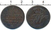 Изображение Монеты Германия Силезия 1/2 крейцера 1788 Медь VF