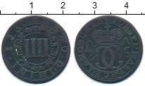 Изображение Монеты Германия Вальдек 4 пфеннига 1730 Медь VF