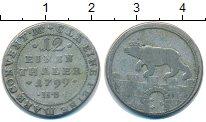 Изображение Монеты Анхальт-Бембург 1/12 талера 1799 Серебро VF