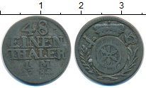 Изображение Монеты Эрфурт 1/48 талера 1784 Серебро VF