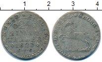 Изображение Монеты Брауншвайг-Вольфенбюттель 1/24 талера 1823 Серебро VF Карл II (Регент Геор