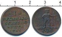 Изображение Монеты Брауншвайг-Вольфенбюттель 1 пфенниг 1783 Медь XF-