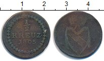 Изображение Монеты Баден 1/2 крейцера 1805 Медь VF
