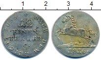 Изображение Монеты Ганновер 1/12 талера 1816 Серебро VF