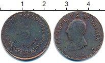 Изображение Монеты Мексика 5 сентаво 1915 Медь VF