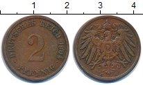 Изображение Монеты Германия 2 пфеннига 1904 Медь VF
