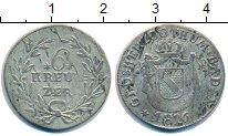 Изображение Монеты Германия Баден 6 крейцеров 1816 Серебро VF